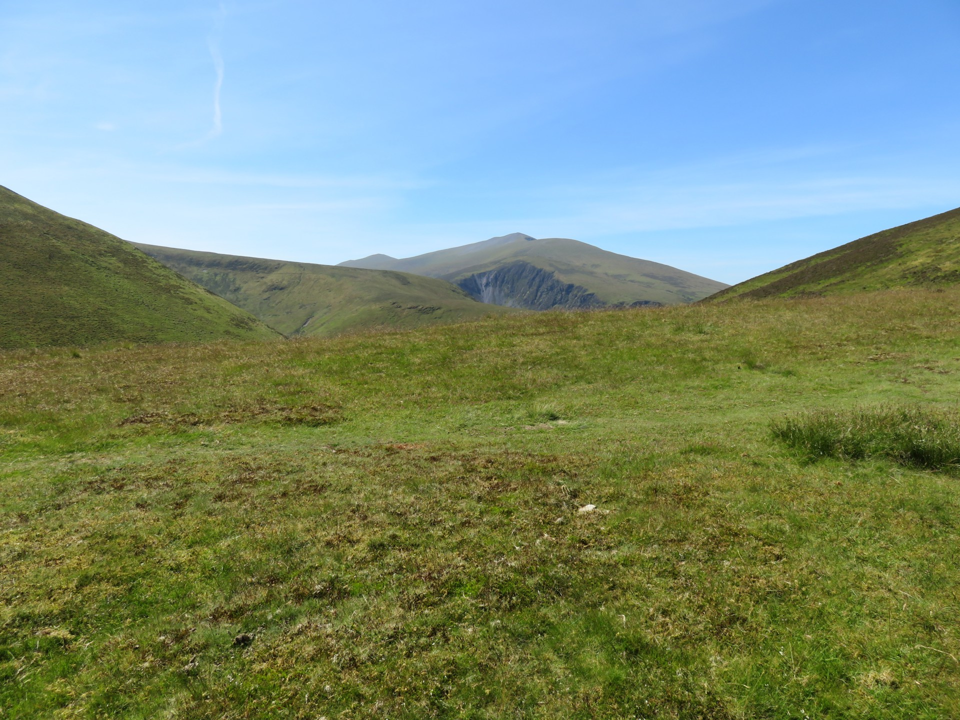 Skiddaw sizzling in the heat