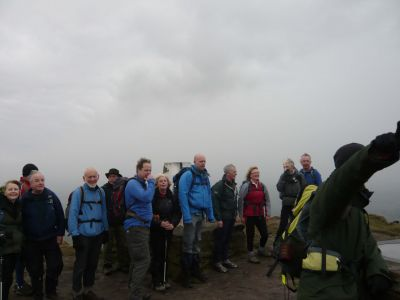 At the summit of The Cloud