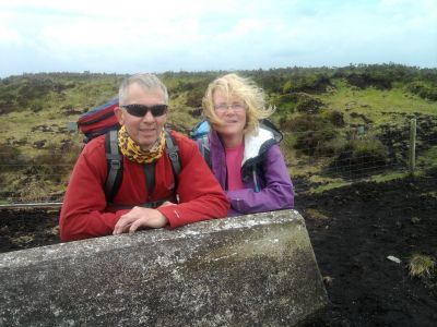 Ralph & Julie on Hawthornethwaite Fell