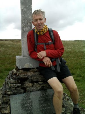 Ralph on Buckden Pike