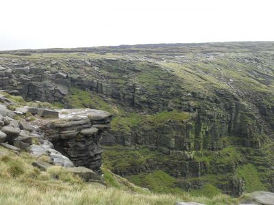 Near  Kinder Downfall