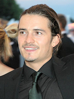 Orlando Bloom (not out walking in the Chilterns)