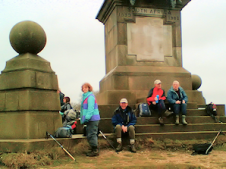 At Coombe Hill monument