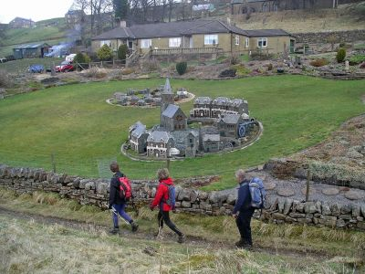 A Model Village in Nenthead - better than the real thing!