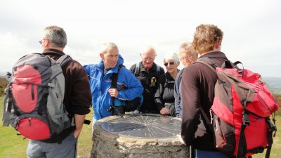 Taking in the Viewpoints from summit of Long Mynd