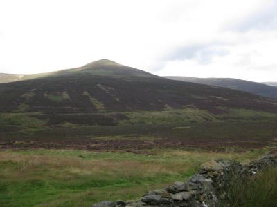 Skiddaw comes out of the Cloud