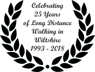 Celebrating 25 Years of Walking in Wiltshire 1993-2018