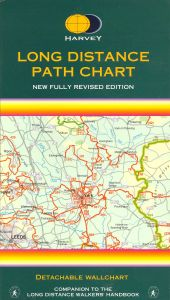 Long Distance Paths Chart - 2nd Edition