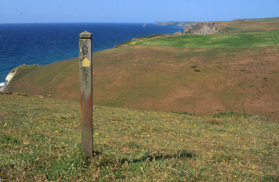 South West Coast Path, near Hartland